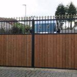 Cladded gates
